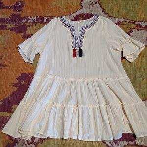 Easel brand boutique dress/ long shirt